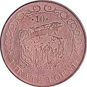 10 Pirate Pound Simba (Treasure Сhest) – reverse