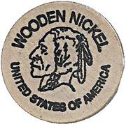 Wooden Nickel - Golden Spread Coin Club (Amarillo, TX) – reverse