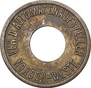 Token - Ver.D. Automatenaufsteller (Nordrhein-Westfalen; type 2) – obverse