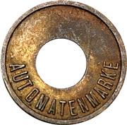 Token - Ver.D. Automatenaufsteller (Nordrhein-Westfalen; type 2) – reverse