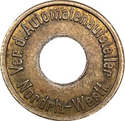 Token - Ver.D. Automatenaufsteller (Nordrhein-Westfalen; type 1) – obverse