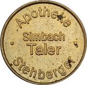 Simbach Taler - Stehberger Apotheke (Simbach) – obverse