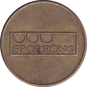 Token - Sporrong (26.2 mm) – obverse