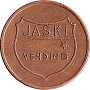 Token - Jaski Vending (narrow letters) – reverse
