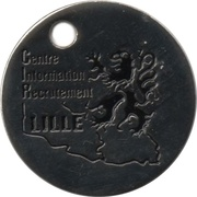 Shopping Cart Token -  Gendarmerie Nationale – reverse