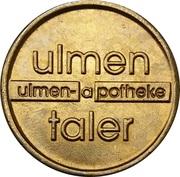 Ulmen Taler - Ulmen Apotheke – reverse