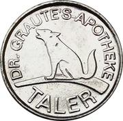1 Taler - Dr. Graute's Apotheke (Lüdinghausen) – obverse