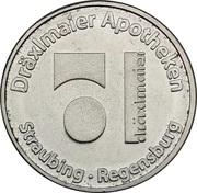 Pharmacy Token - Dräxlmaier Apotheke (Straubing, Regensburg) – obverse