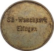 Car Wash Token - Kärcher Clean Park (Ebingen) – obverse