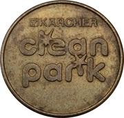 Car Wash Token - Kärcher Clean Park (Ebingen) – reverse