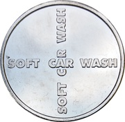 Car Wash Token - Soft Car Wash – reverse