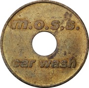 Car Wash Token - M.O.S.S. – obverse