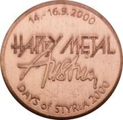 Token - Happy Metal Austria – obverse
