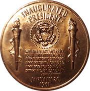 Token - John F. Kennedy (Inauguration) – reverse