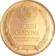 Token - North Carolina – reverse