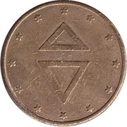 Token - Gettone (24 mm) – reverse