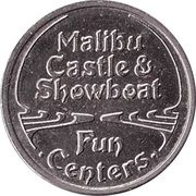 Token - Malibu Money (Copper-nickel) – reverse