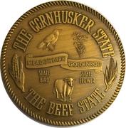 Token - Nebraska Centennial (The Cornhusker State) – obverse