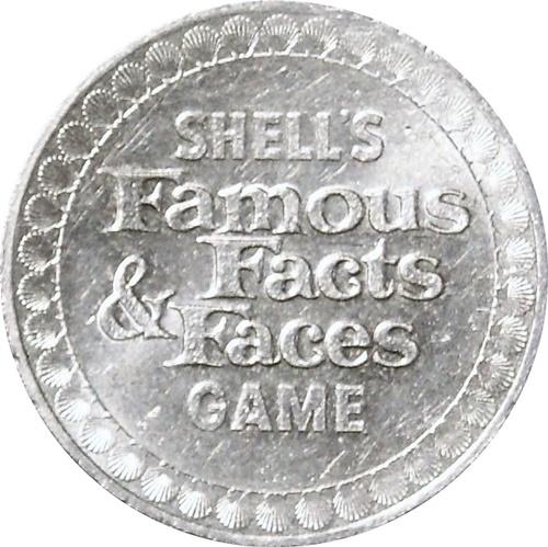 John Paul Jones Coin 1968 Shell/'s Famous Facts /& Faces Game Token