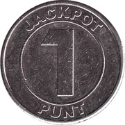 1 Punt - Jackpot (Slot Machine) – reverse