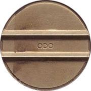 Token - ODO (Baseball Batting Cage) – reverse