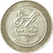 1 Dollar Gaming Token - Flamboro Downs – obverse
