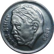 Reichsmark (Adolf Hitler - Fantasy Coin) – obverse