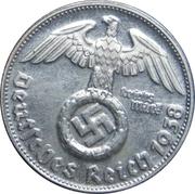 Reichsmark (Adolf Hitler - Fantasy Coin) – reverse