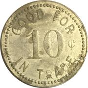 10 Cents - Schwentker's Grocery (Wymore, NE) – reverse