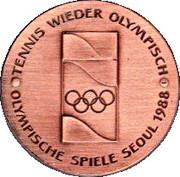 Token - Steffi Graf Pro Olympia – reverse