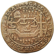 Administration of the canal of Brussels – reverse