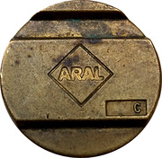 Car Wash Token - Aral – obverse
