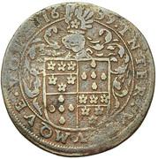 Balthazar de Lauretten, intendant of the canal of Brussels – obverse