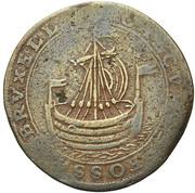 Balthazar de Lauretten, intendant of the canal of Brussels – reverse