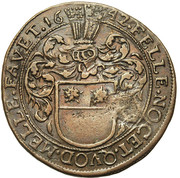 Adrien de Beausele, intendant of the canal of Brussels – obverse