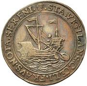 Adrien de Beausele, intendant of the canal of Brussels – reverse