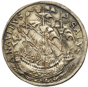 Jean van der Tommen, intendant of the canal of Brussels – reverse
