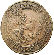 Jacques-Philippe de Dongelberg, intendant of the canal of Brussels – obverse