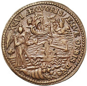 Frédéric de Marselaer, intendant of the canal of Brussels – reverse