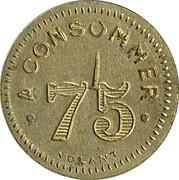 75 Centimes - Le Paris – reverse