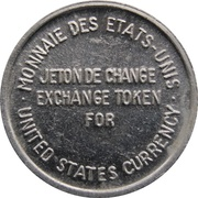 Token - Expo 67 (for US Currency Exchange) – reverse