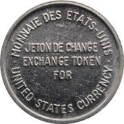 Exchange Token - Expo 67 (For US Currency Exchange) – reverse