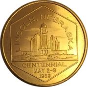 50 Cents - Lincoln (Nebraska Centennial) – obverse