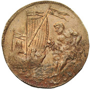 Pierre-Josse d'Armstorff, superintendent of the canal of Brussels – reverse