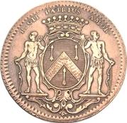Token - States of Burgundy (Mayor of Dijon Jean-Pierre Burteur; 1st type) – obverse