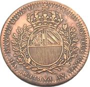 Token - States of Burgundy (Mayor of Dijon Jean-Pierre Burteur; 1st type) – reverse