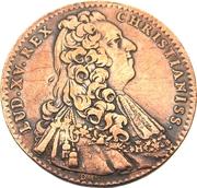Token - Louis XV (States of Burgundy; 1st type) – obverse