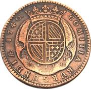 Token - Louis XV (States of Burgundy; 1st type) – reverse