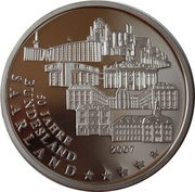 Token - Deutschland Einigkeit Recht Freiheit (Saarland - 50th year as Federal state) – obverse
