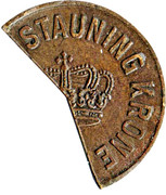 Stauning Krone – reverse